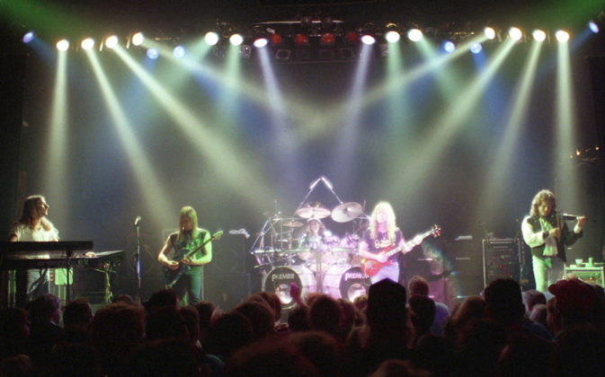 Picture of the rock band Dixie Dregs in concert taken by Bill O'Leary