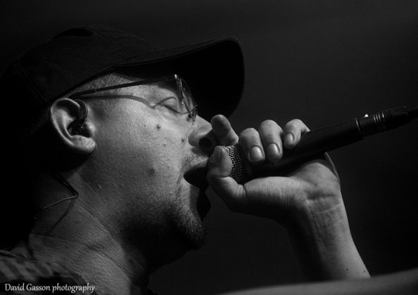 Picture of the hip hop band Elemental from Croatia taken by David Gasson