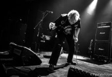 Picture of the punk band Accion Mutante in concert taken by Paul Verhagen