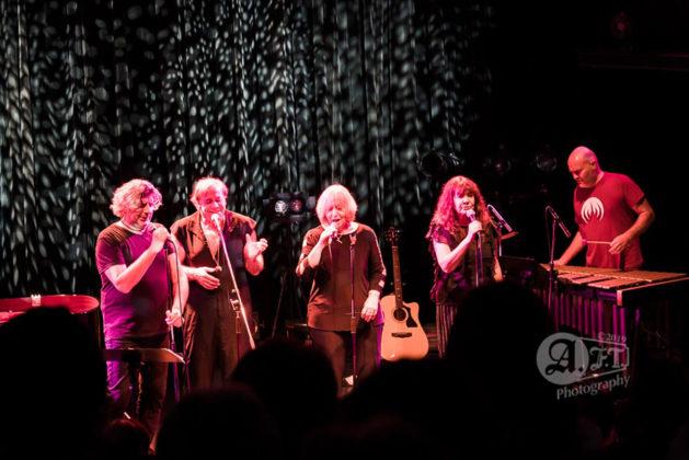 Picture of the progressive rock band Magma in concert taken by Aki Fujita Taguchi