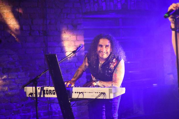 Picture of the rock band Hardline in concert taken by Lennart Håård