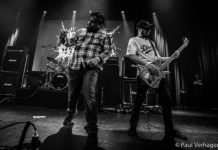 Picture of the punk band Brucexcambell in concert taken by Paul Verhagen