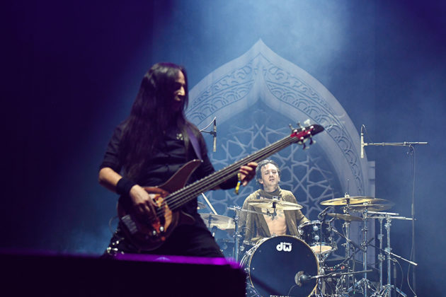 Picture of the heavy metal band Myrath in concert by Lennart Håård