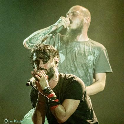 Picture of the heavy metal band Walkways in concert taken by Omer Keidar