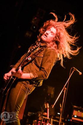 Picture of Jared James Nichols in concert taken by Aki Fujita Taguchi