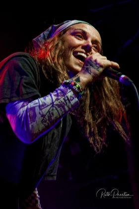 Picture of Lauren Sanderson in concert taken by Ruth Preston