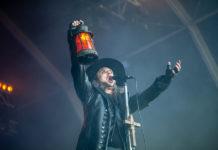 Picture of Moonspell in concert taken by Helder J F Martins