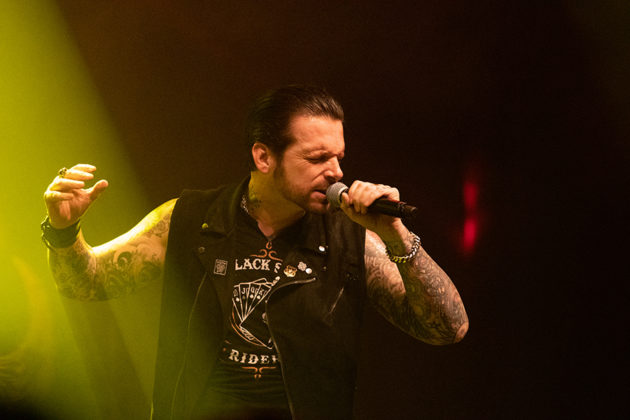 Picture of the rock band Black Star Riders in concert taken by Lennart Håård