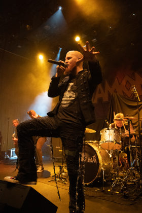Picture of the heavy metal band Diamond Head in concert by Lennart Håård