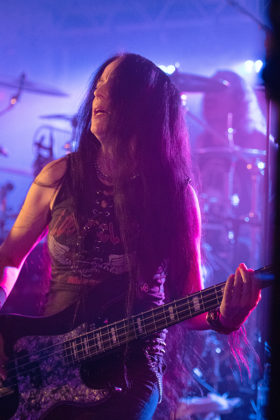 Picture of the thrash metal band Ice Age in concert taken by Lennart Håård