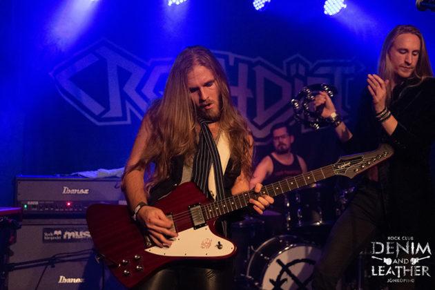 Picture of the rock band Velvet Insane in concert by Lennart Håård