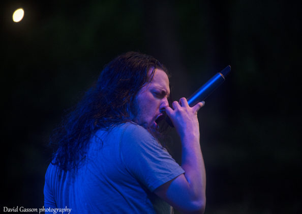 Picture of the metal band Disease Illusion in concert taken by David Gasson