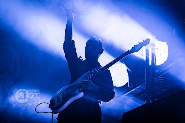 Picture of the progressive heavy metal band Opeth in concert taken by Aki Fujita Taguchi