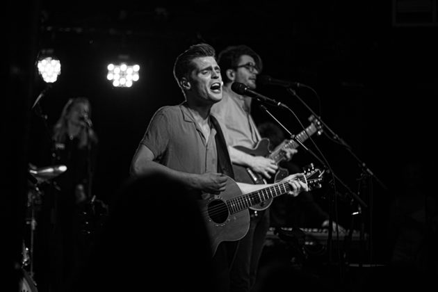 Picture of Hudson Taylor in concert taken by Danni Fro