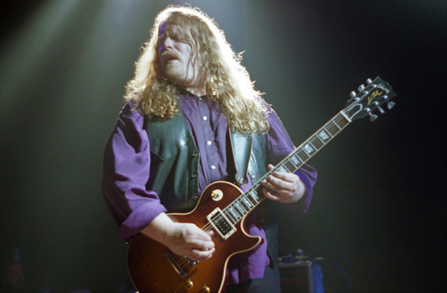 Picture of the southern rock band Gov't Mule in concert in 1993 by music photographer Bill O'Leary