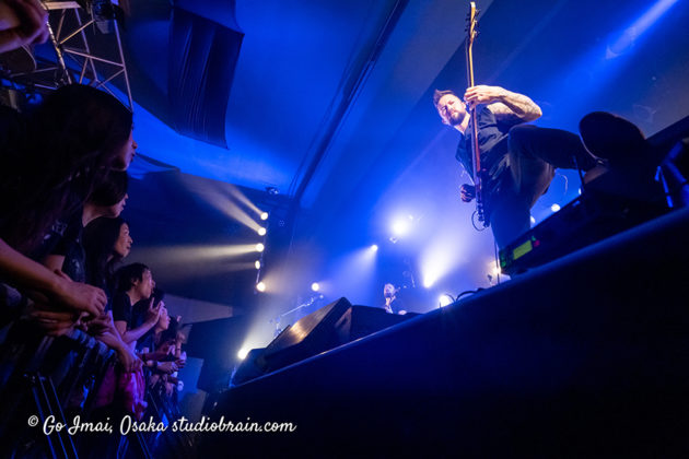 Picture of Circus Maximus in concert taken by music photographer Go Imai
