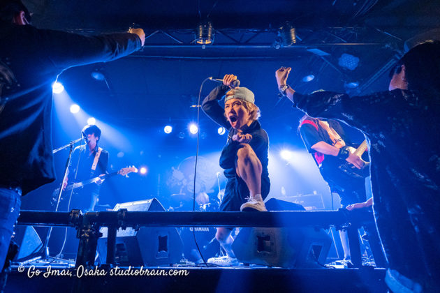 Picture of Junior Breath in concert taken by music photographer Go Imai