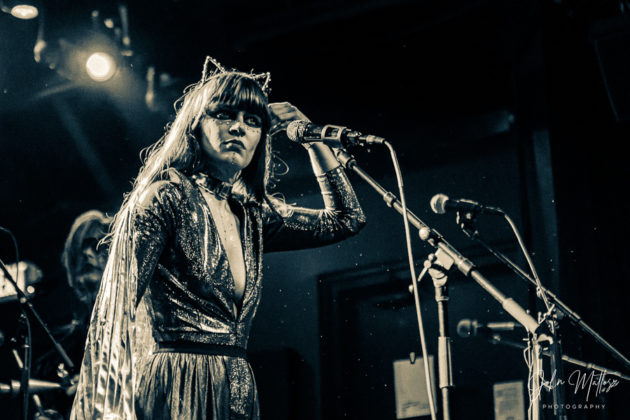Picture of Daughter Vision in concert taken by John Matlosz