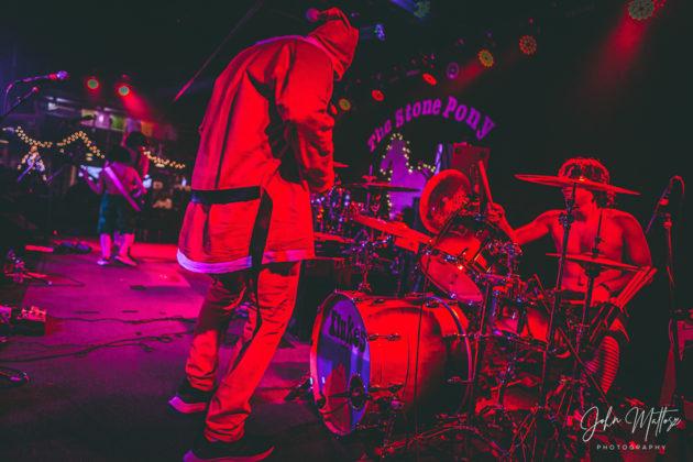 Picture of The Flukes in concert taken by John Matlosz