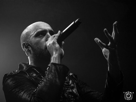 Picture of Beast In Black in concert taken by music photographer Emma Bauer