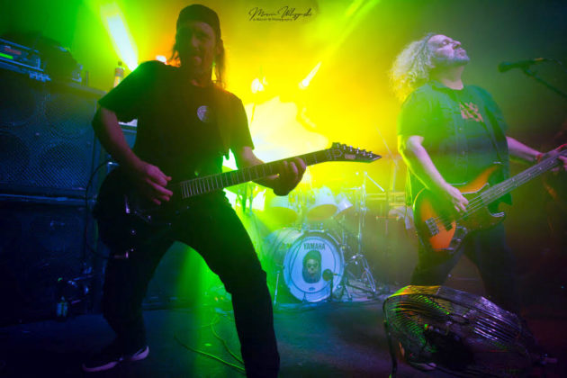 Picture of the band Metal Church in concert by Marcin Wilczynski