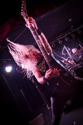 Picture of Insomnium in concert taken by Marcin Wilczynski