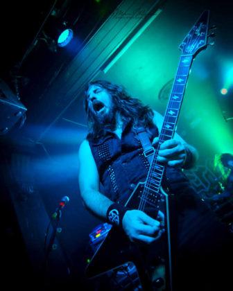 Picture of Night Demon in concert taken by Marcin Wilczynski