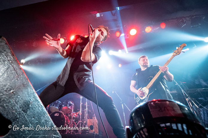 Picture of the heavy metal band Illusion Force in concert taken by Go Imai