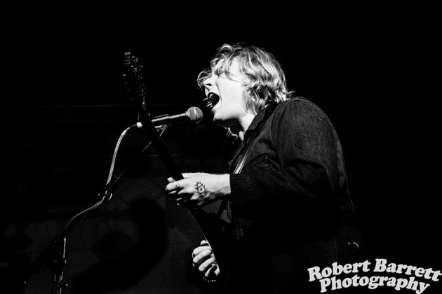 Picture of Ty Segall in concert taken by Robert Barrett