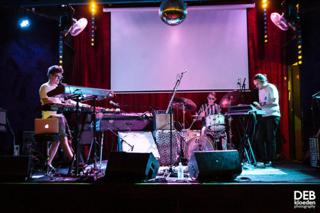 Picture of the band Eraser Description in concert taken by Deb Kloeden