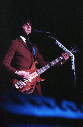 Picture of Todd Rundgren's Utopia in concert taken by Bill O'Leary