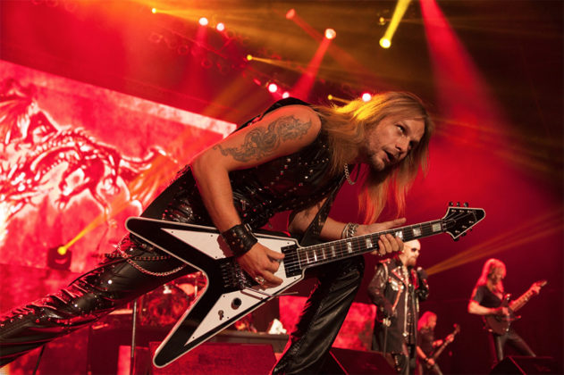 Picture of Judas Priest in concert taken by Leyda Luz