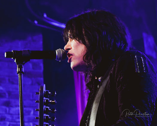 Picture of Tom Keifer in concert taken by Ruth Preston