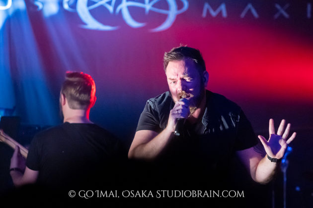 Picture of the band Circus Maximus in concert taken by Go Imai