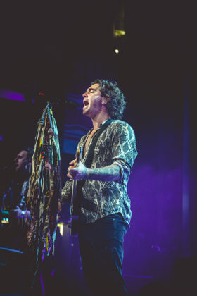 Picture of the band American Authors in concert by John Matlosz