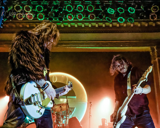 Picture of the band The Glorious Sons in concert taken by Ruth Preston