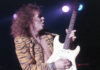 Picture of Yngwie Malmsteen in concert taken by Bill O'Leary