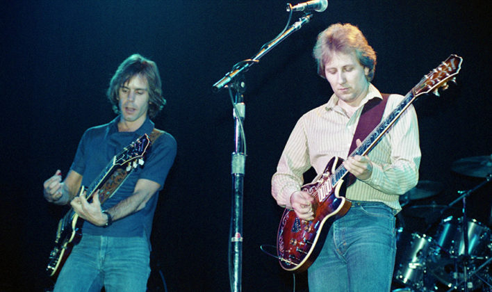 Picture of the band Bobby and the Midnites in concert taken by Bill O'Leary