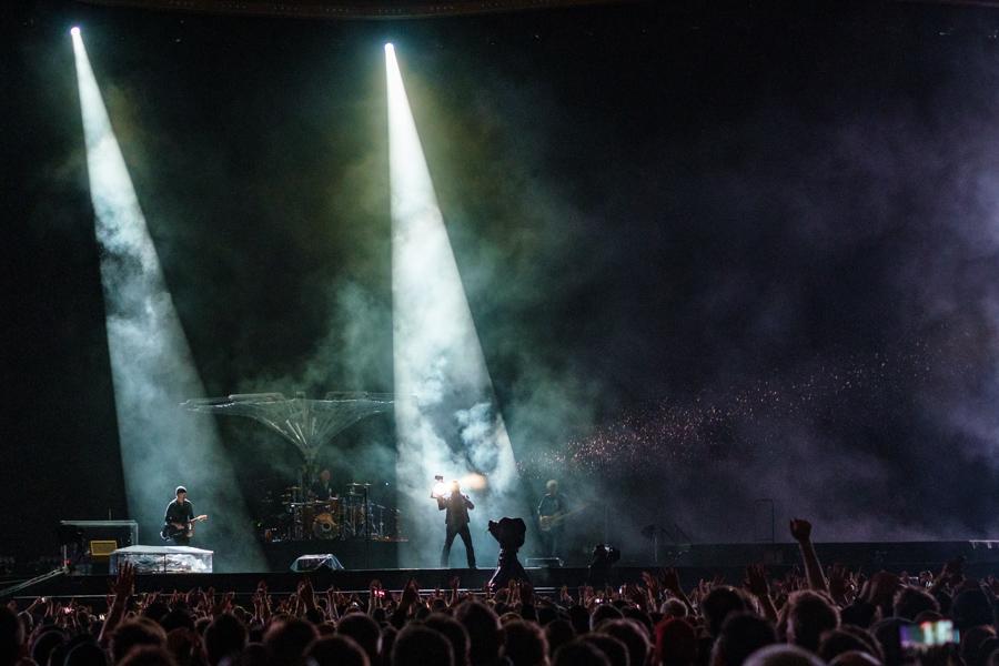 Picture of U2 in concert taken by Darren Chan