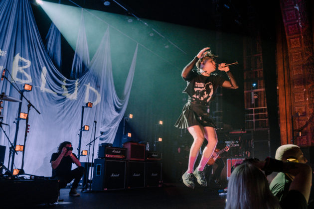 Picture of Yungblud in concert taken by Darren Chan