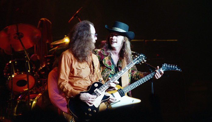 Picture of the band Blackfoot in concert by Bill O'Leary