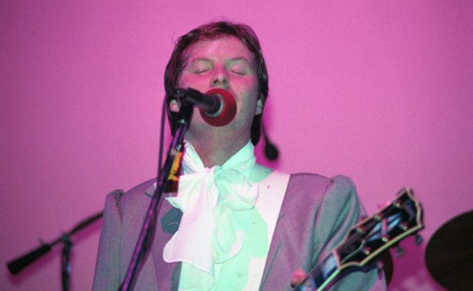 Picture of the band XTC in concert by Bill O'Leary