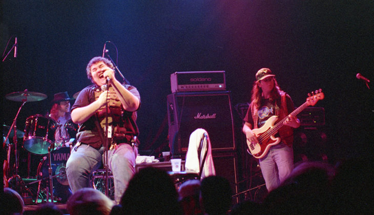 Picture of the jam rock band Blues Traveler in concert by Bill O'Leary