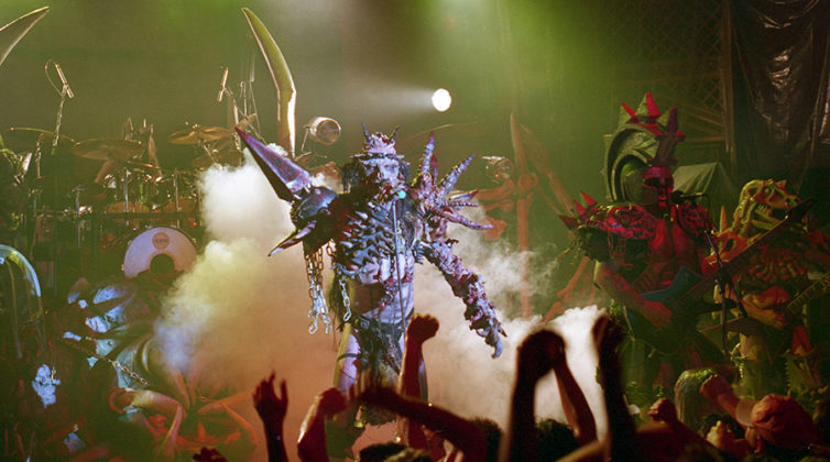 Picture of Gwar in concert by Bill O'Leary