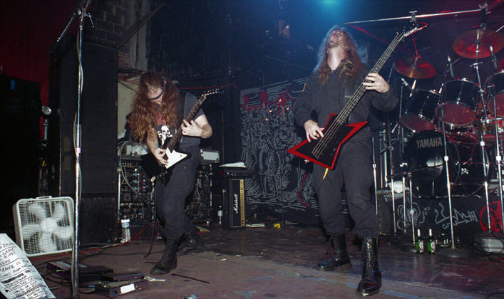 Picture of Morbid Angel in concert by Bill O'Leary