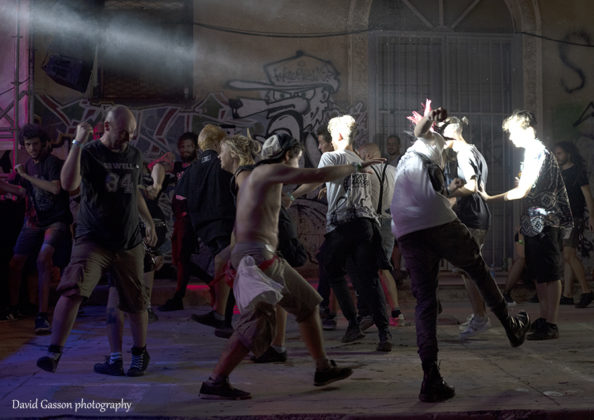 Picture of the Monte Paradiso Hardcore Punk Festival  by David Gasson