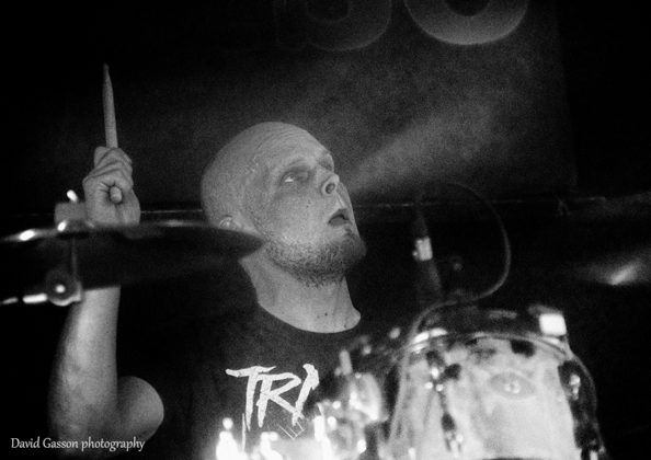 Picture of Dropthehammer in concert by David Gasson