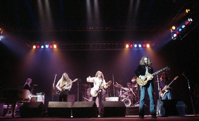 Picture of Henry Paul Band in concert by Bill O'Leary