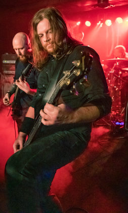 Picture of Dethrone in concert by Lennart Håård