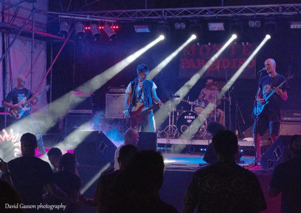 Picture of Disbaja in concert by David Gasson